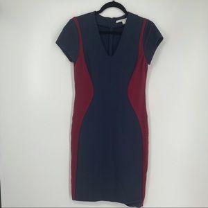 Diane Von Furstenberg Dayton Stretch Sheath Dress